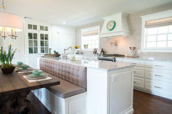 Desain Meja Dapur Island  tips menggunakan island di dapur anda