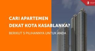 Apartemen dekat Kota Kasablanka