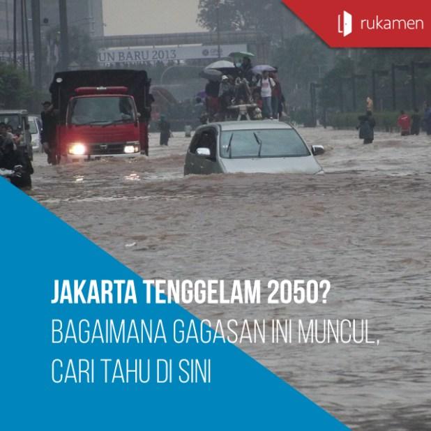 Jakarta Tenggelam 2050