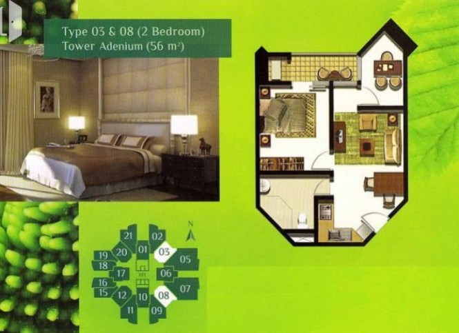 With Its Medium End Price Green Central City Can Be An Ideal Apartment For You