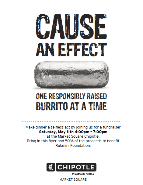 Cause An Effect - Chipotle RF Flyer 2