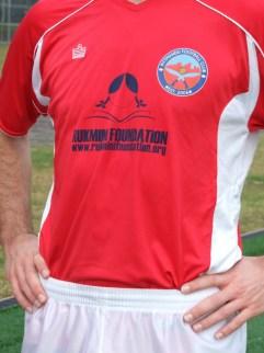 Pittmandu donated their support through their new jerseys
