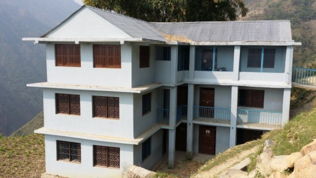 Ghyampadevi School_Simpani_in good condition because of retrifitting works by Nepal Government