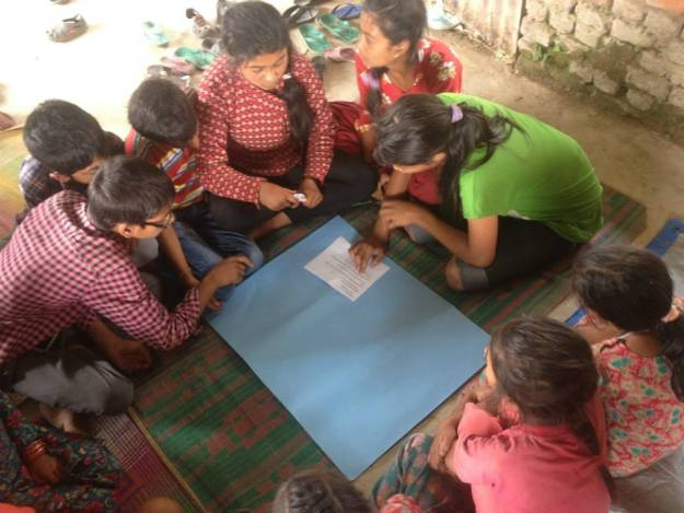 Group 4 led by Rukmini Scholar Anjana