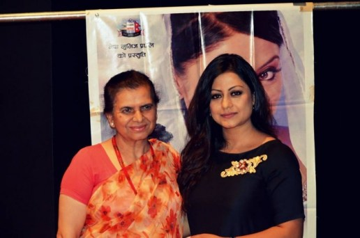 Laxmi Aryal and Sweta Khadka