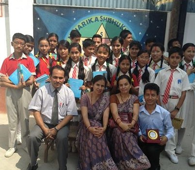 Niharika School has been run by the family for generations now