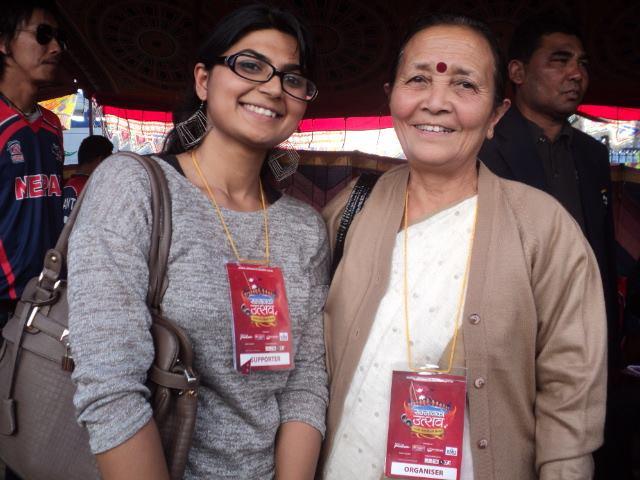Prakriti_with_Anuradha_Koirala