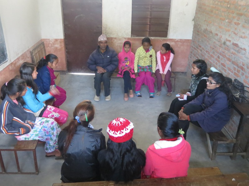 Mentoring Program Began with Introductions