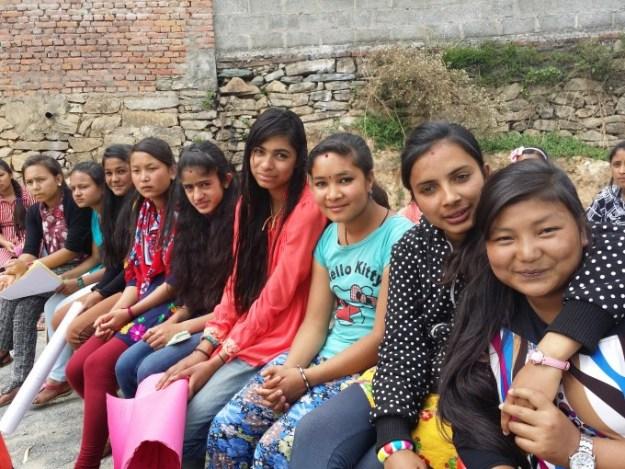scholars photo session