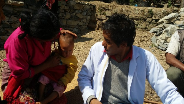 we also cured small child during our simpani camp