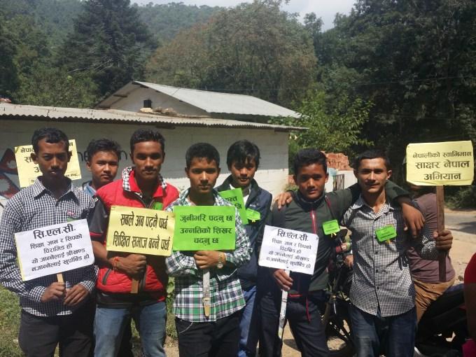 Participants of Shikharapur Open School