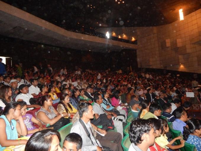 audience inside hall