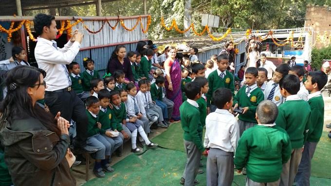 Deusi Bhailo Program at Primary section of shikharapur