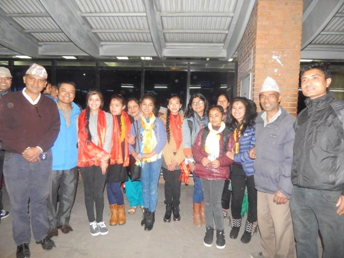with Rukmini ASC team