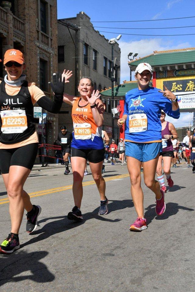 Chicago Marathon runner.