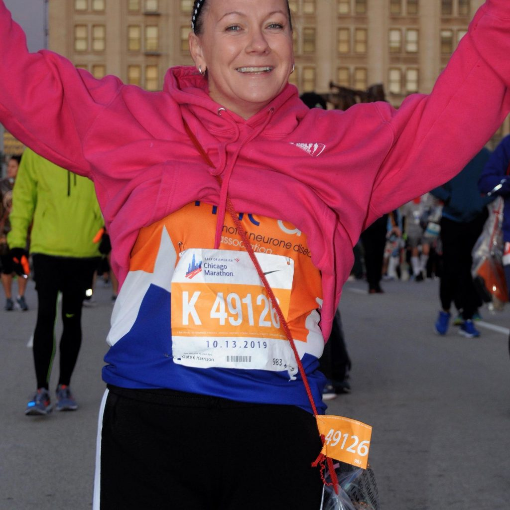Start of the Chicago Marathon 2019