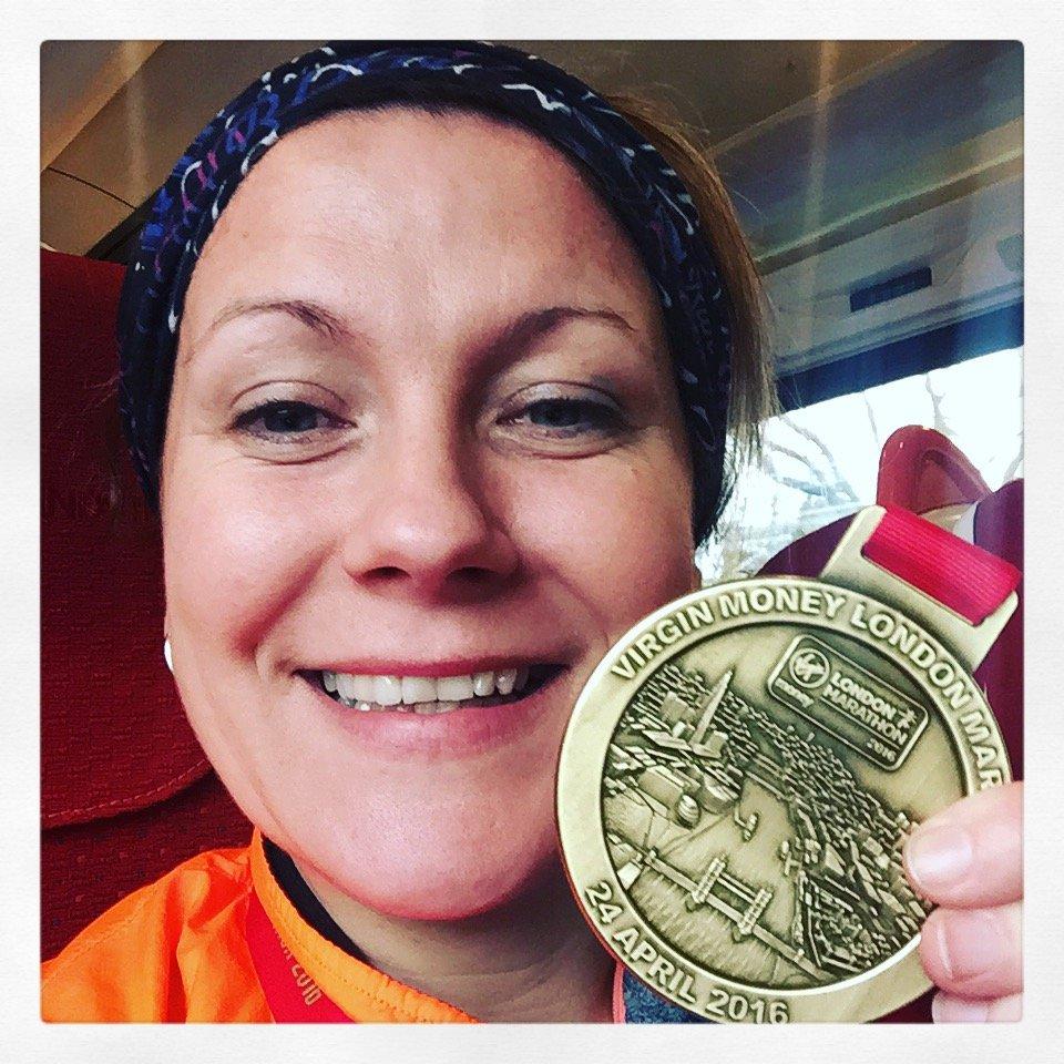 London Marathon Medal 2016