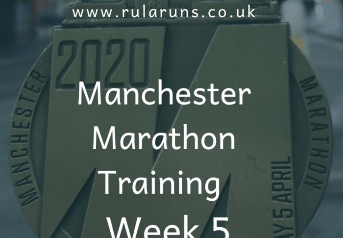 Manchester Marathon Training Recap – Week 5
