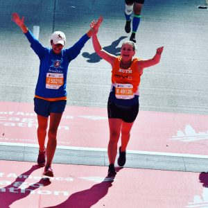FInsh Line of Chicago Marathon