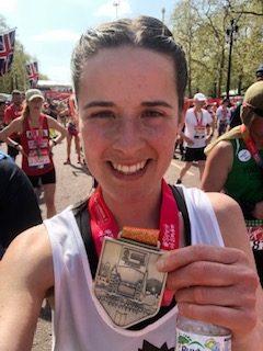Emma at London Marathon