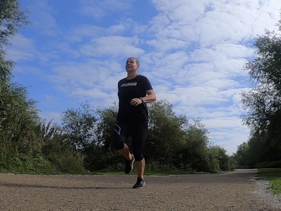 Ruth running