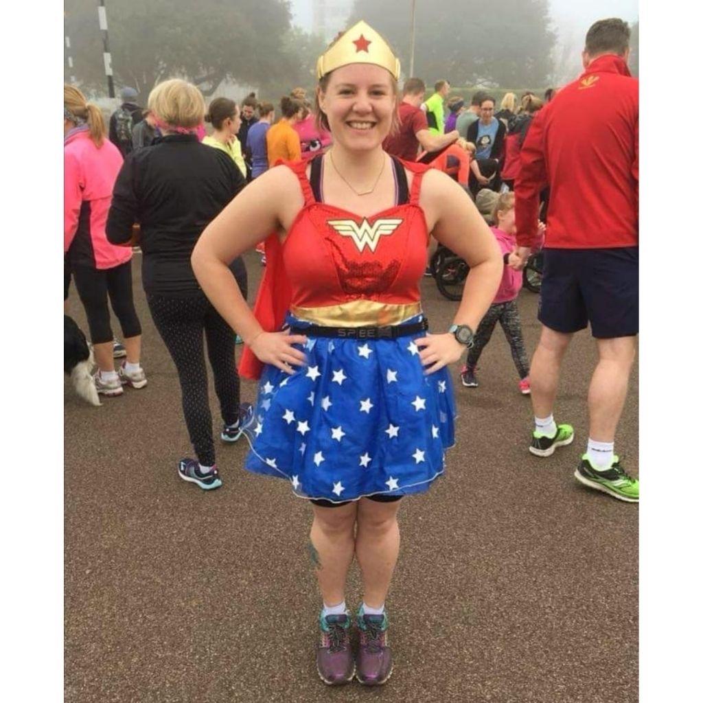 Claire at London Marathon