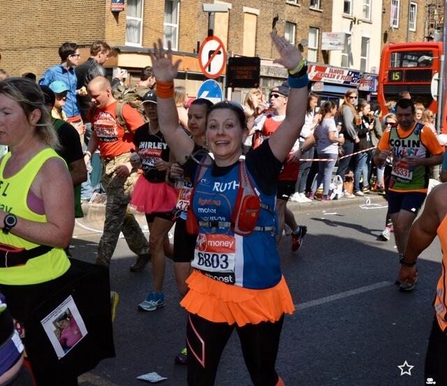 Ruth London Marathon 2014