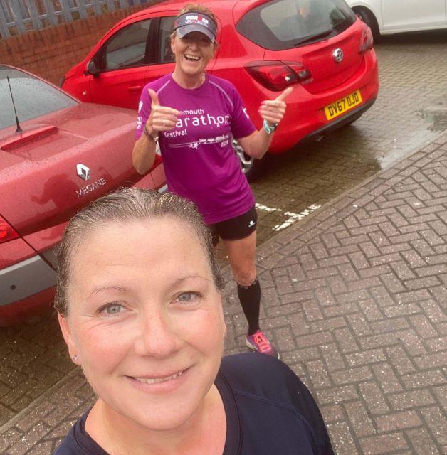 Berlin Marathon Training - Ruth & Sue