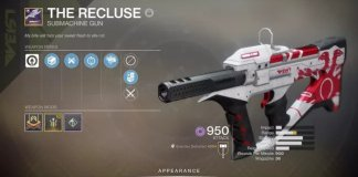 How to get Recluse in Destiny 2