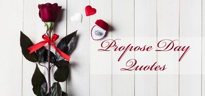 Happy Propose Day Love