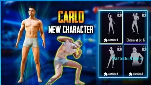 How To Unlock Carlo Character In PUBG Mobile For Free? Best 3 Way To unlock Carlo Character.