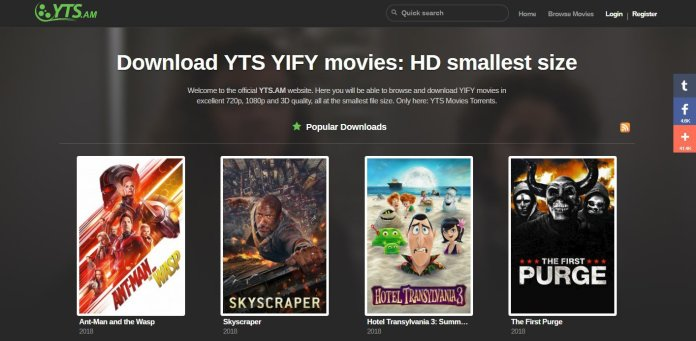 YTS 2021 - Download Hollywood Movies In HD