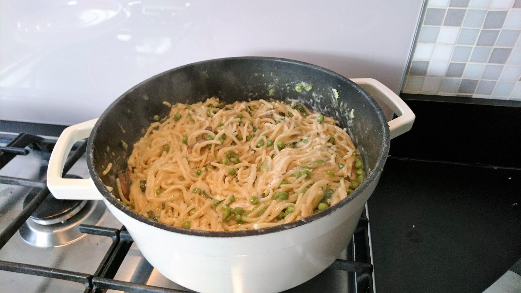 one pot pasta klaar