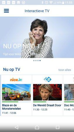 Interactieve TV van KPN