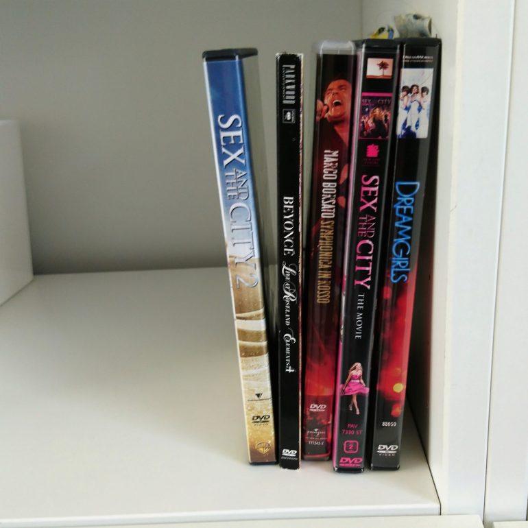 Een paar DVD's