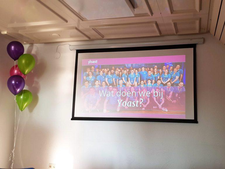 De presentatie