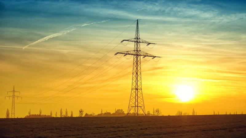 Een stroom mast