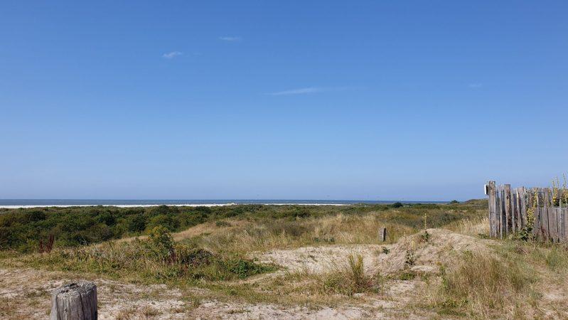 Op het strand van Schiermonnikoog, het was gelukkig geen hittegolf
