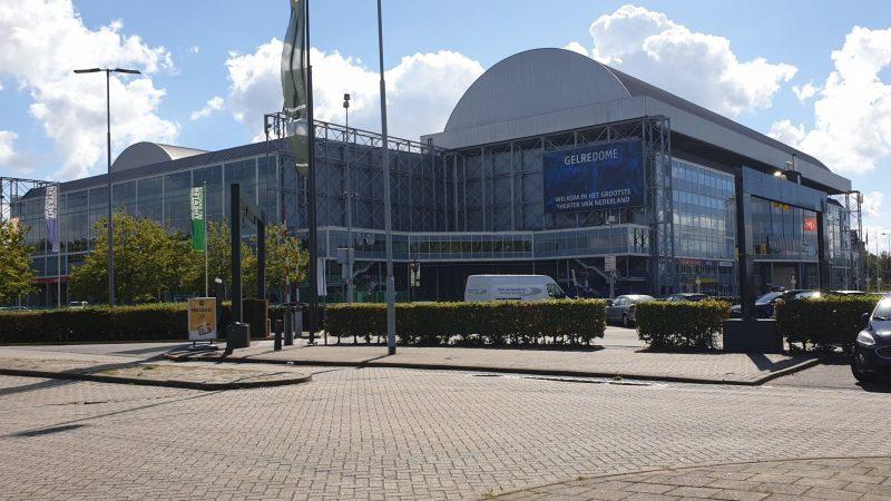 Dit weekend gingen we eten bij de McDonald's bij het Gelredome in Arnhem