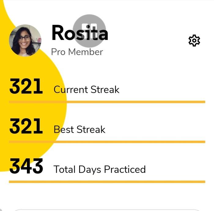 321 dagen aan het leren op Codecademy, 4 jaar na te revalideren.