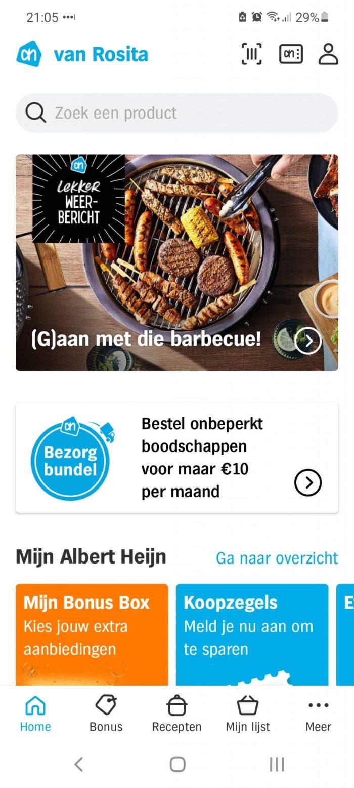 Albert Heijn app