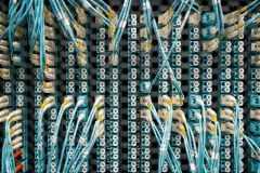data transfer by optical fiber in network server