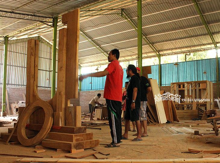 material kayu jati gong senen Rumah kartini japara