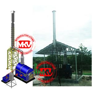 Incinerator Hewan - RPH, Double Burner 10K