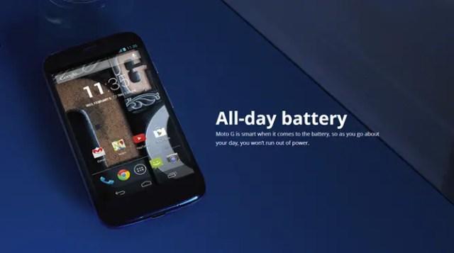 baterai Motorola Moto G