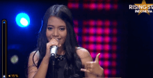 Hanin Dhiya-Rising Star Indonesia
