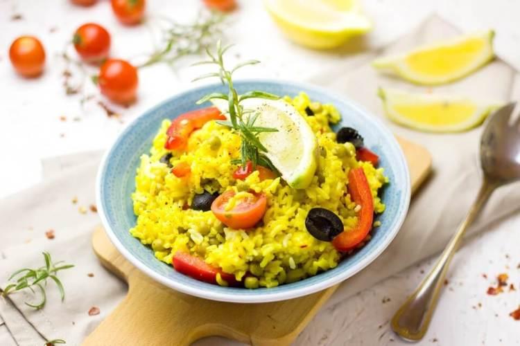 paella dengan rempah bunga saffron, manfaat bunga saffron untuk kesehatan, rumah saffron