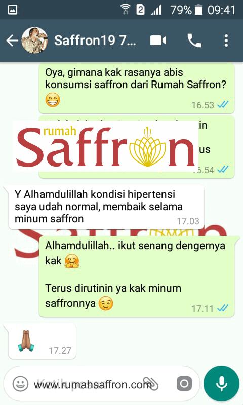testimoni saffron untuk hipertensi, rumah saffron