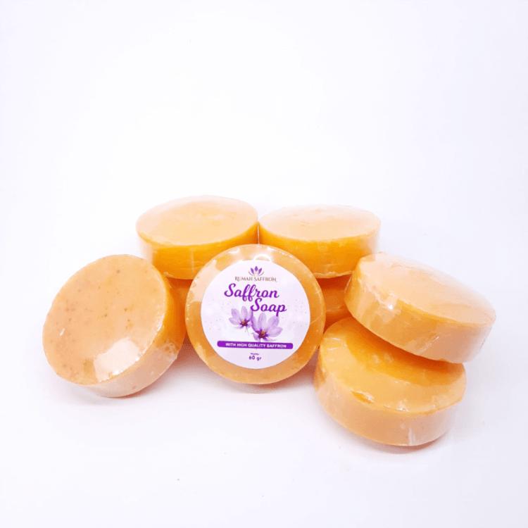 sabun saffron original, manfaat sabun saffron, sabun saffron asli, sabun saffron aleya