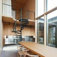 Rumah loft mezzanine
